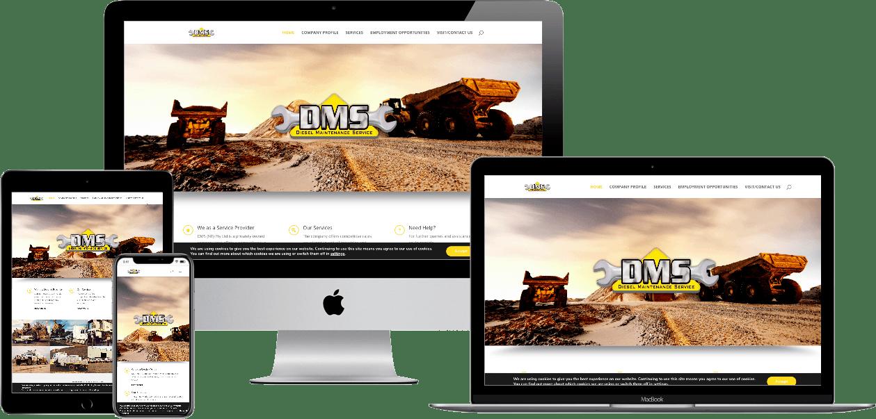 website example for diesel maintenance